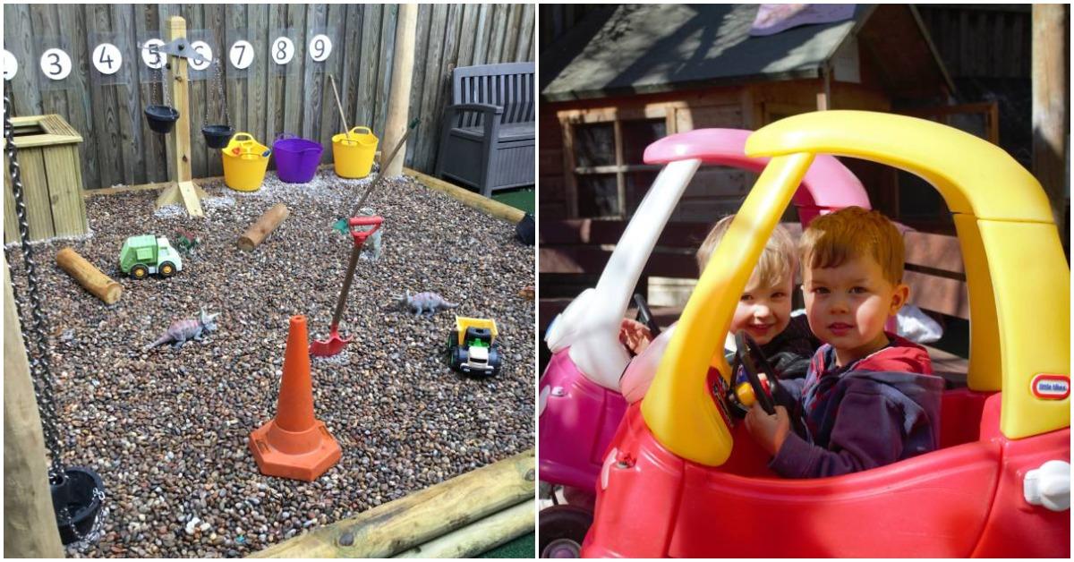 Brackenfield School in Harrogate opens new adventure play area