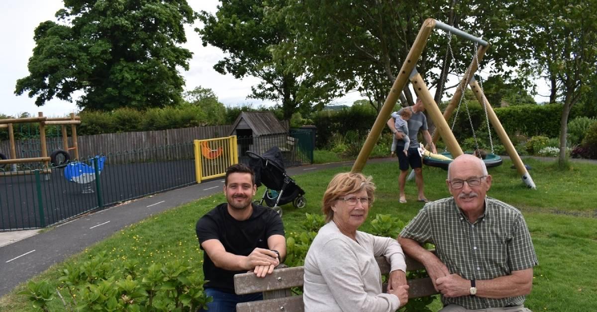 Harrogate village playpark unveils much-needed makeover