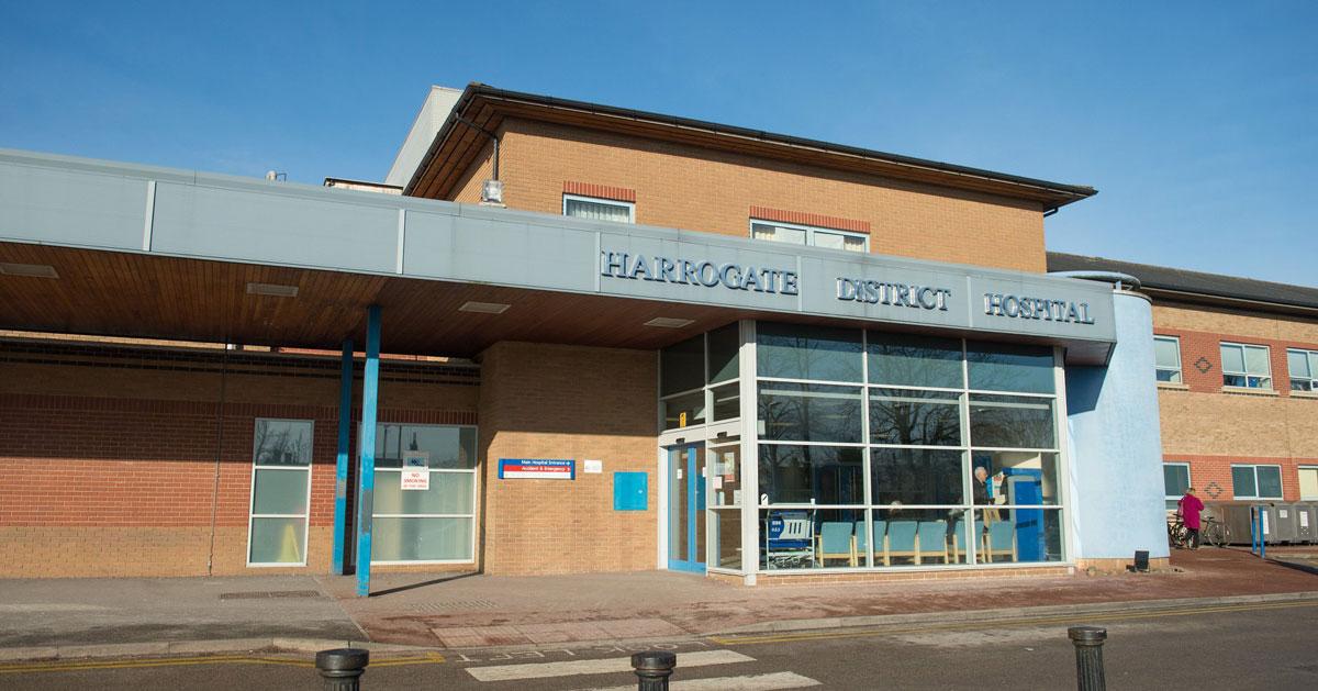 Harrogate District Hospital.
