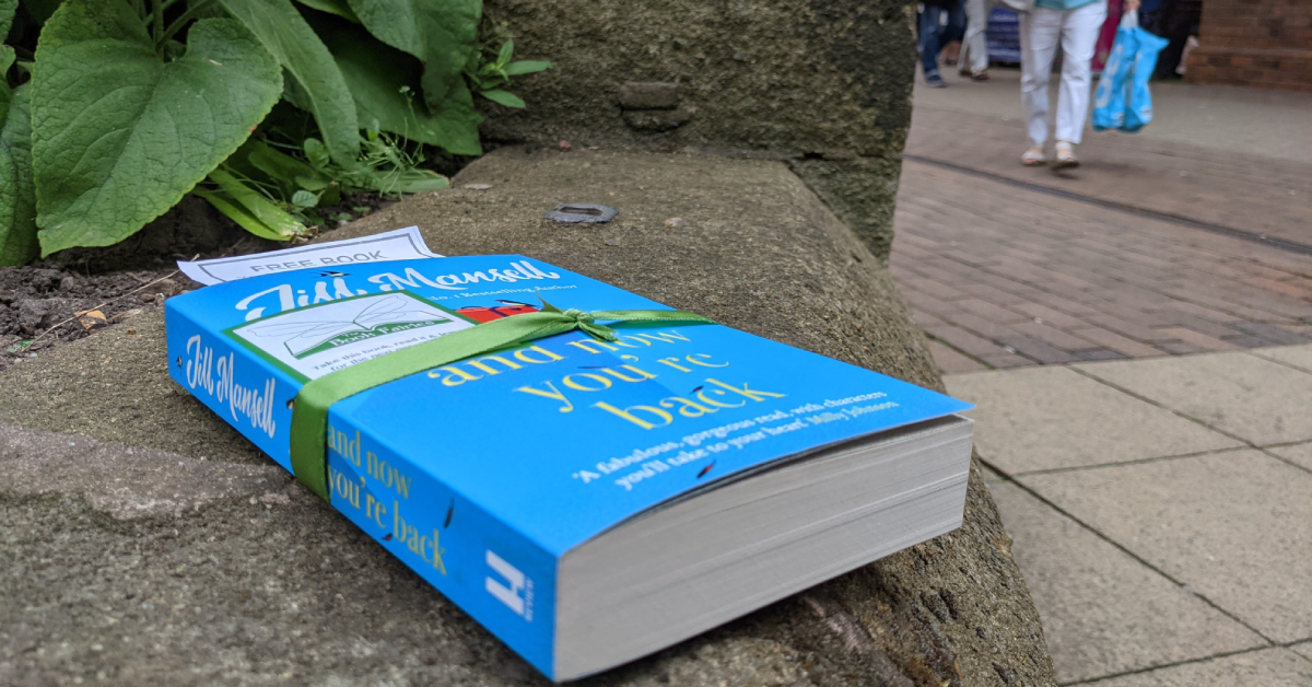 Gifts from 'book fairies' appear in Harrogate centre
