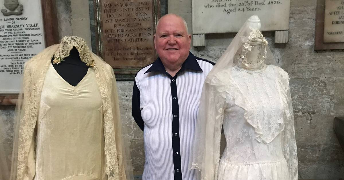 Mystery shrouds Coco Chanel-designed wedding dress at Ripon Cathedral
