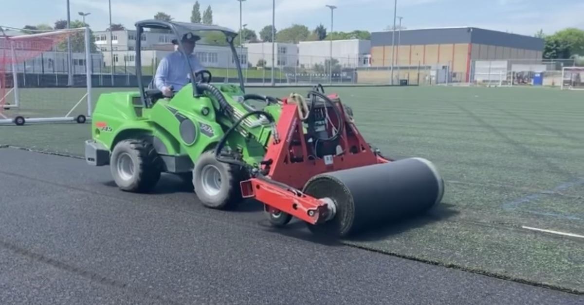 Rossett sports pitch work