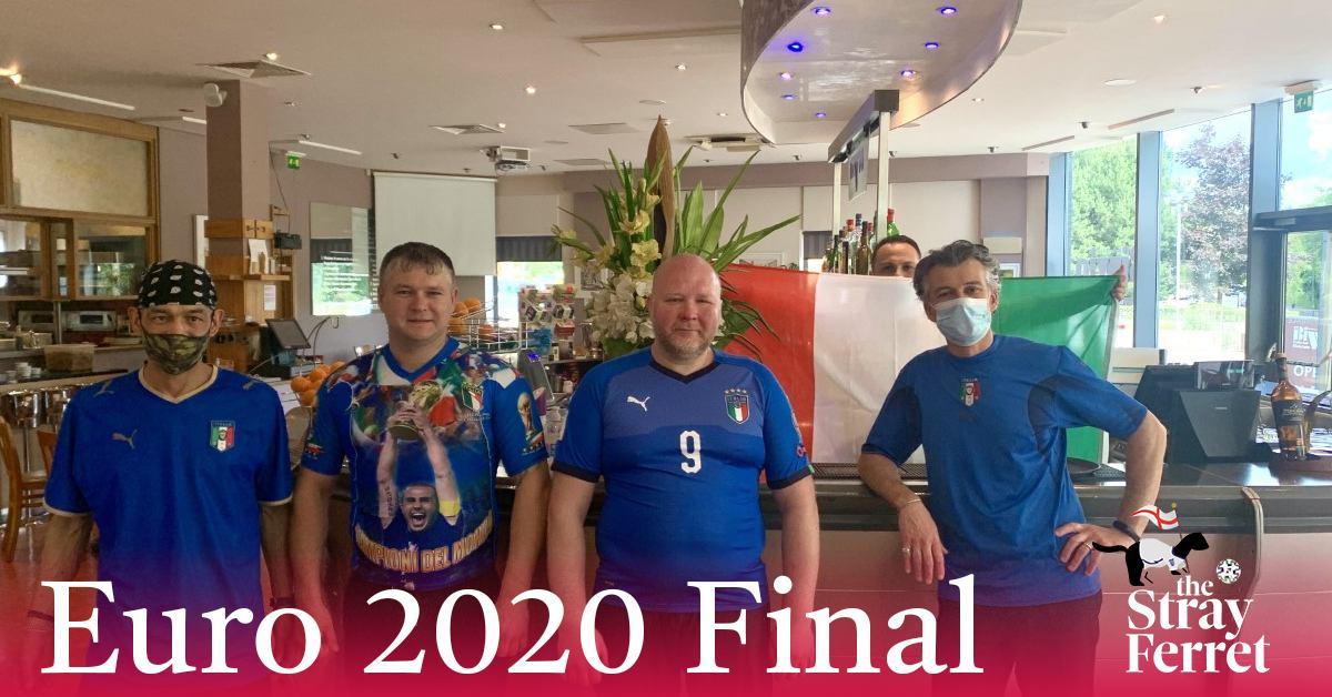 Italian Harrogate restaurateur backs his country to win