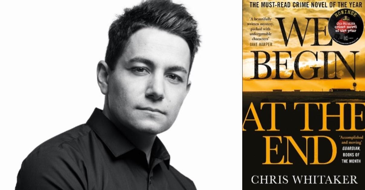 Chris Whitaker and winning book