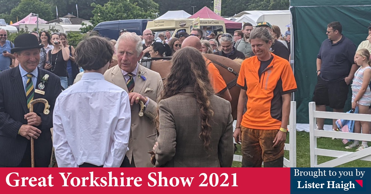 Watch Prince Charles leave Harrogate in helicopter after Great Yorkshire Show