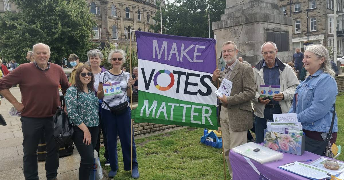Campaigners in Harrogate call for change to 'unequal' voting system