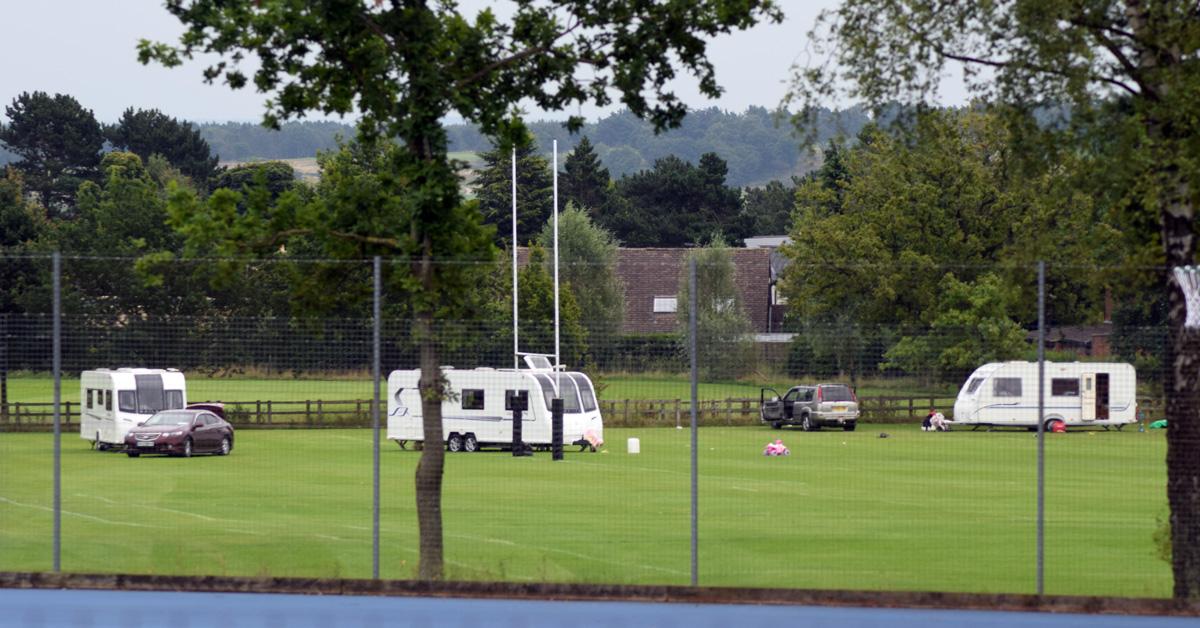 Travellers depart Harrogate's Ashville College after fracas leaves man in hospital