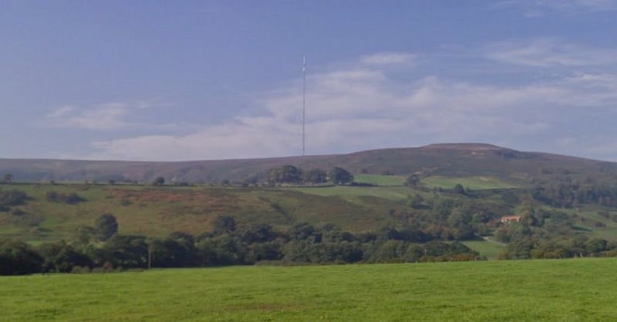 Fire crews were called to Bilsdale mast near Helmsley this afternoon after reports of smoke coming from the area.