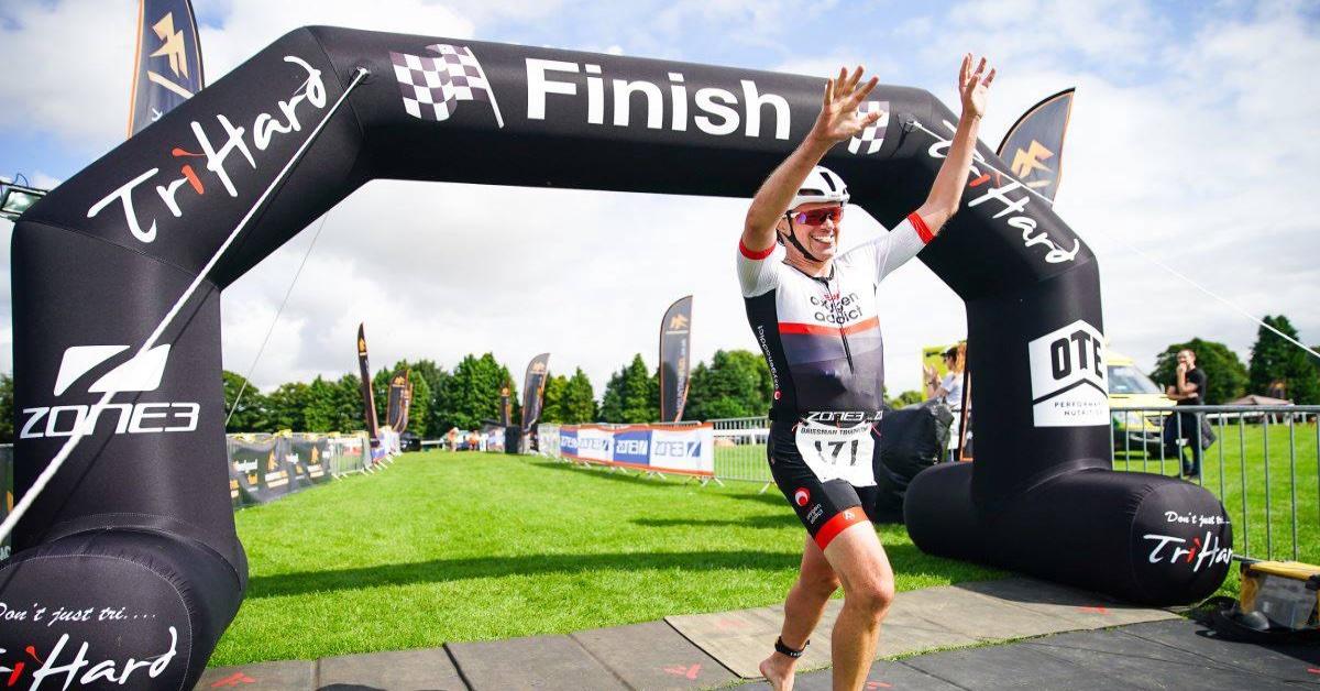 Dalesman triathlon in Ripon attracts 600 hardy souls