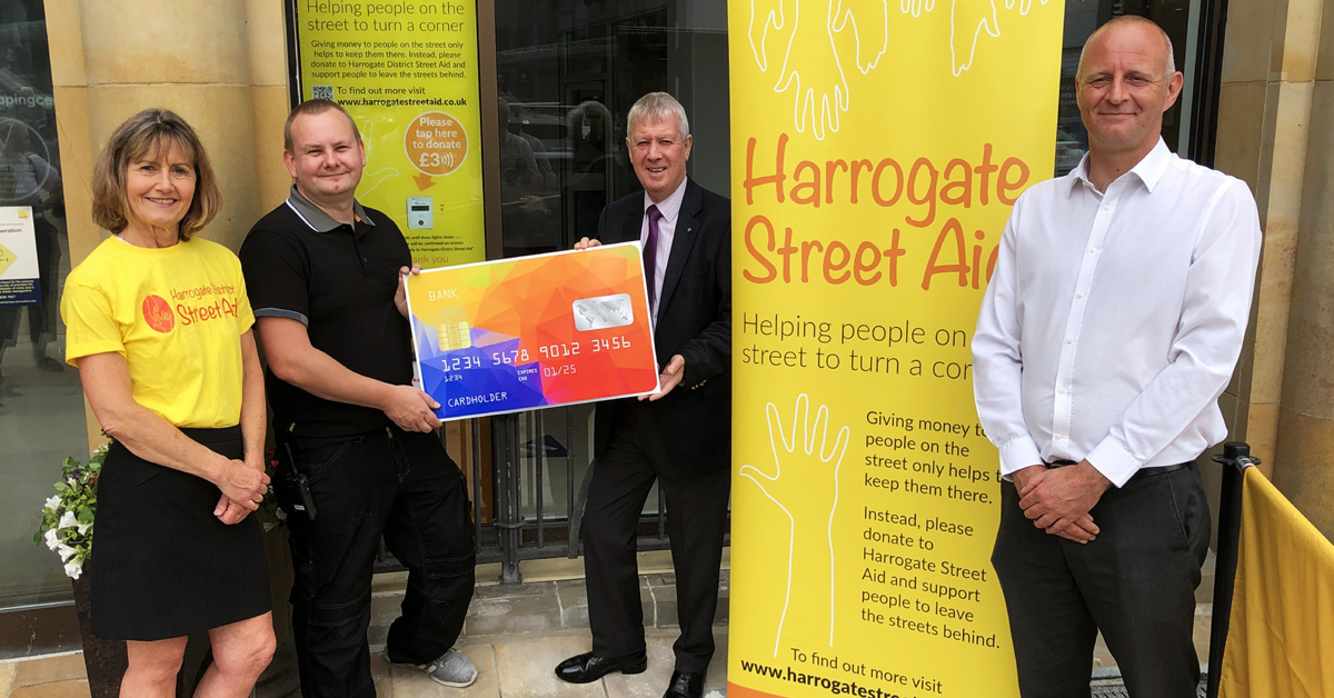 Second tap terminal in Harrogate to help homeless people