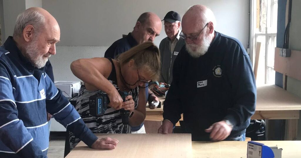 Photo of woodworking at Ripon Men's Shed