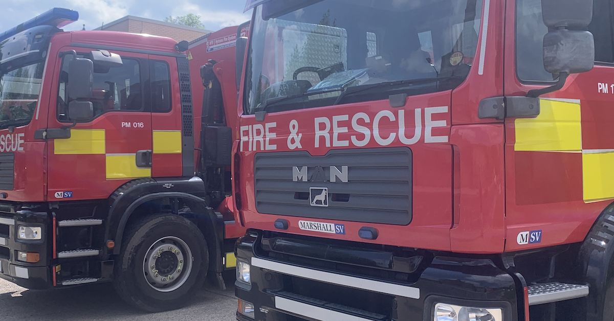 Blaze in Harrogate district barns with 150 tonnes of straw bales