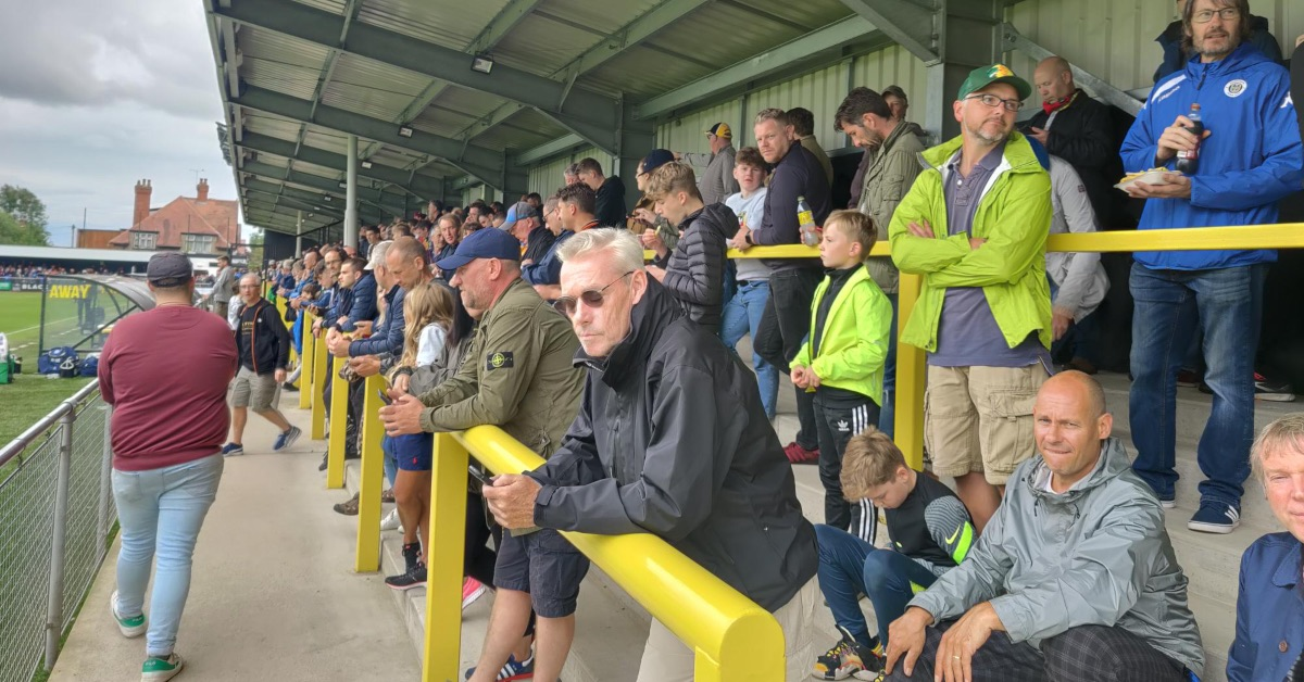 Ticketing problems at Harrogate Town leave some fans unable to attend