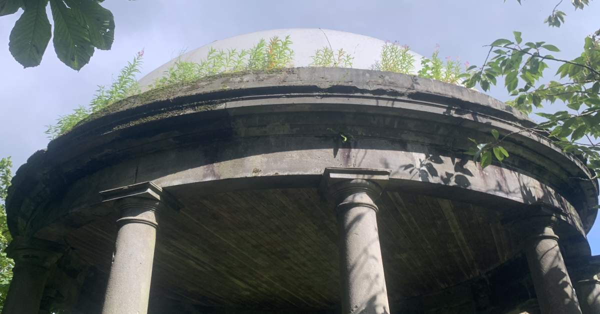 Why are Harrogate's historic monuments neglected?