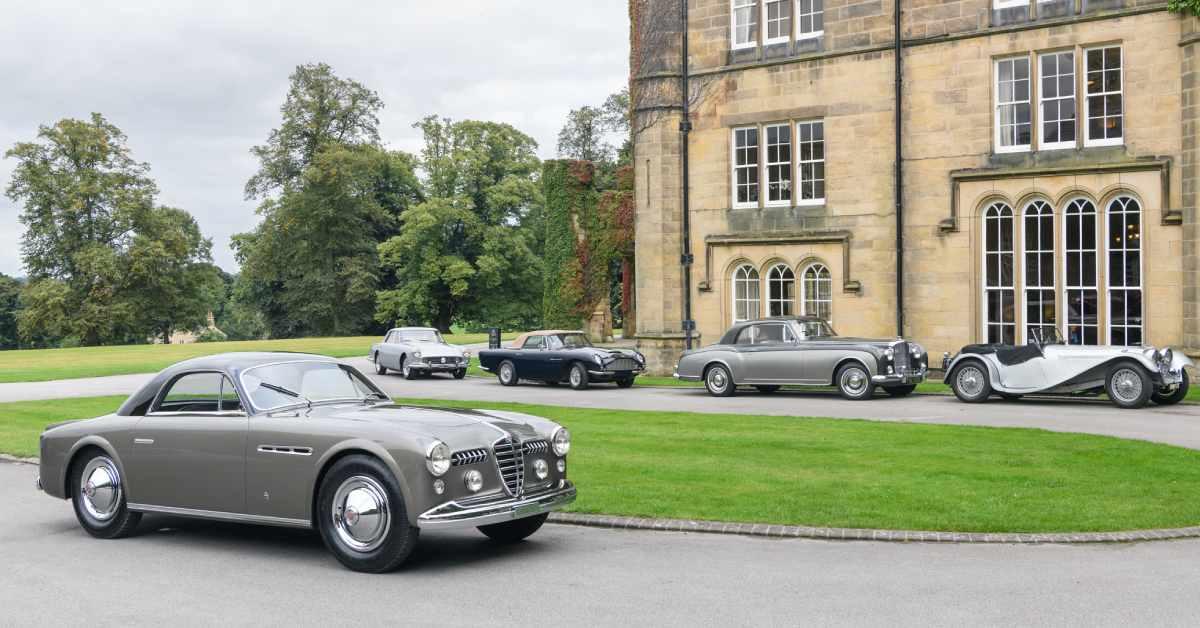 Swinton Park hosts Royal car tour
