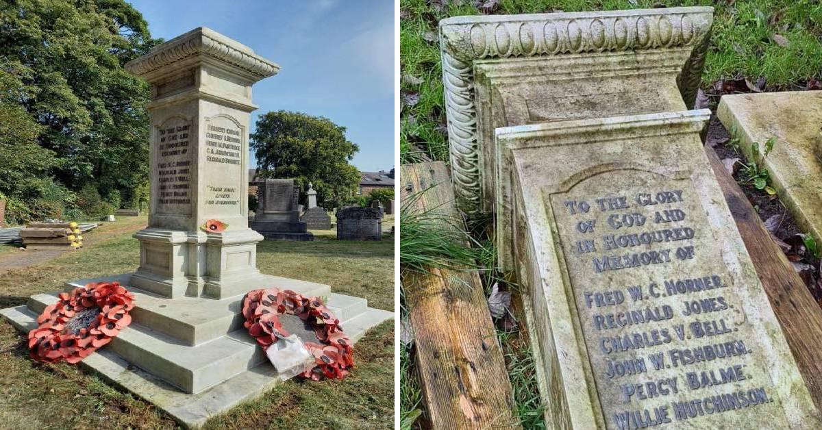 Harrogate's 'forgotten' war memorial restored to former glory