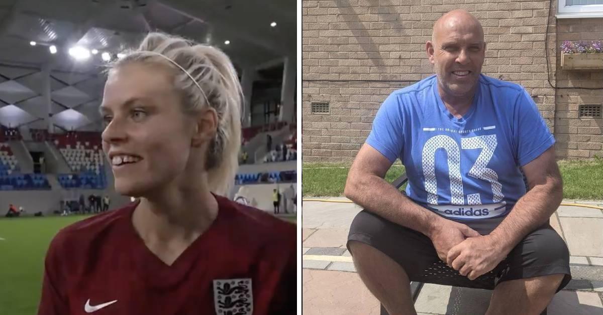 Harrogate's Rachel Daly dedicates England goal to late dad Martyn