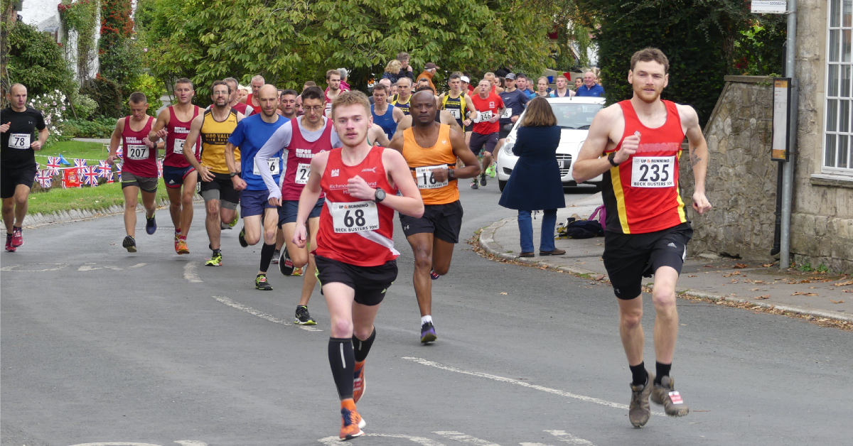Runners raise funds for all-weather track at Bishop Monkton school