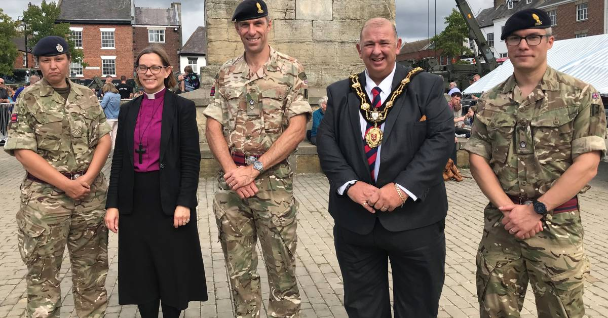 Ripon salutes the Royal Engineers at freedom weekend