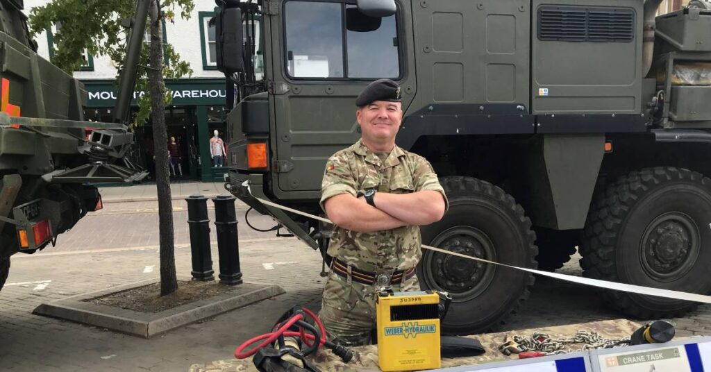 Photo of Sgt Ross Mellon