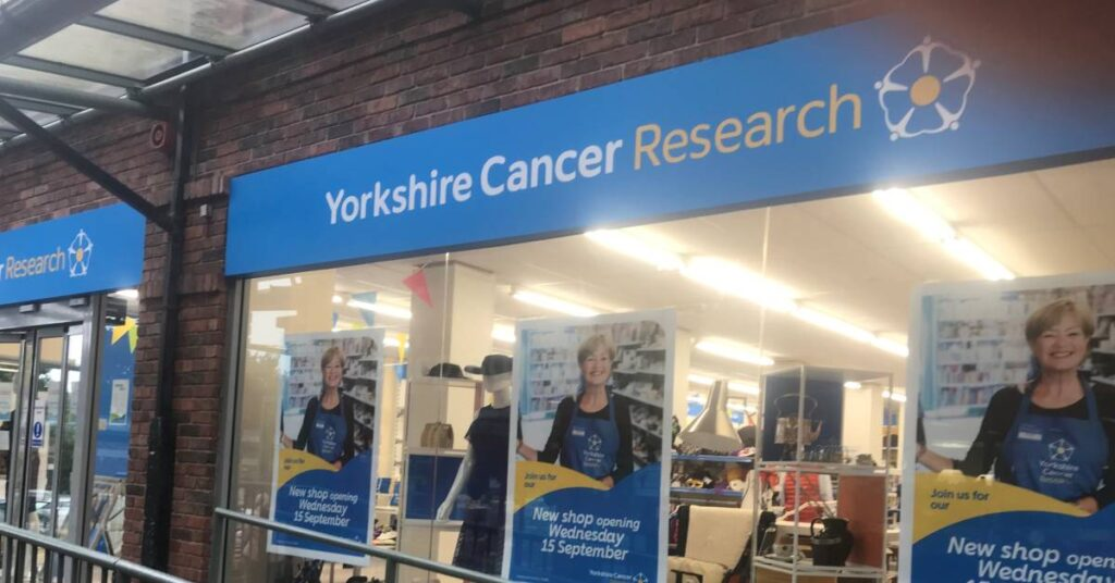 Photo of Yorkshire Cancer Research store