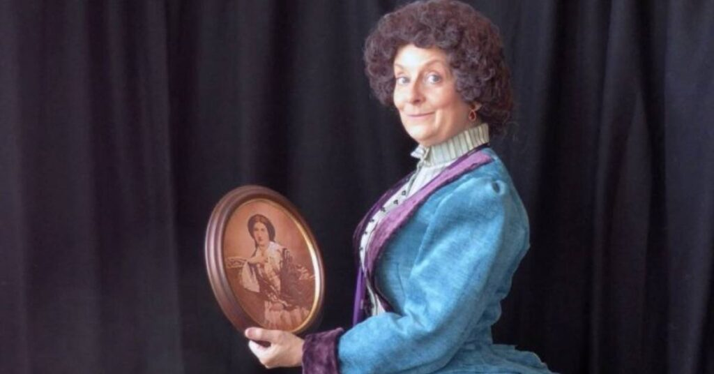 Photo from Mrs Beeton Play