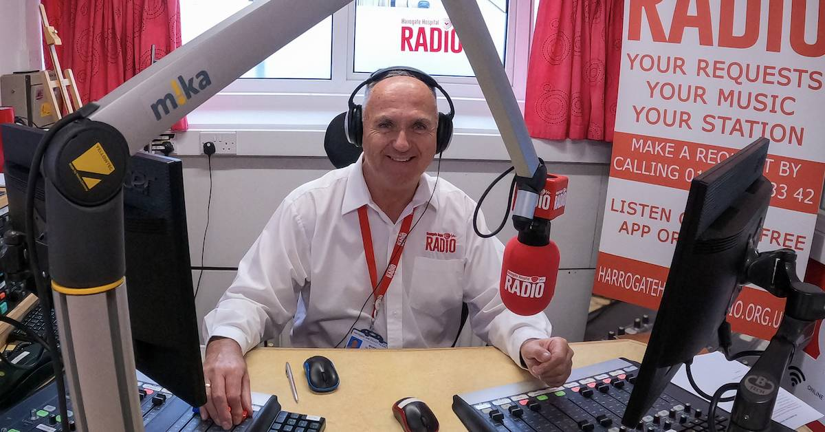 Your chance to be a DJ at Harrogate Hospital Radio