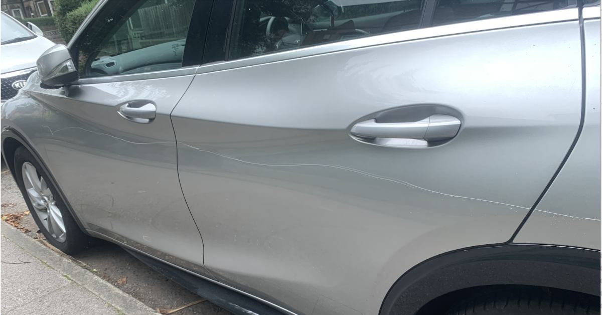 20 cars on Harrogate street scratched with key