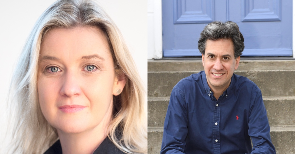 Ed Miliband and Kate Vigurs heading to Harrogate for literary festival