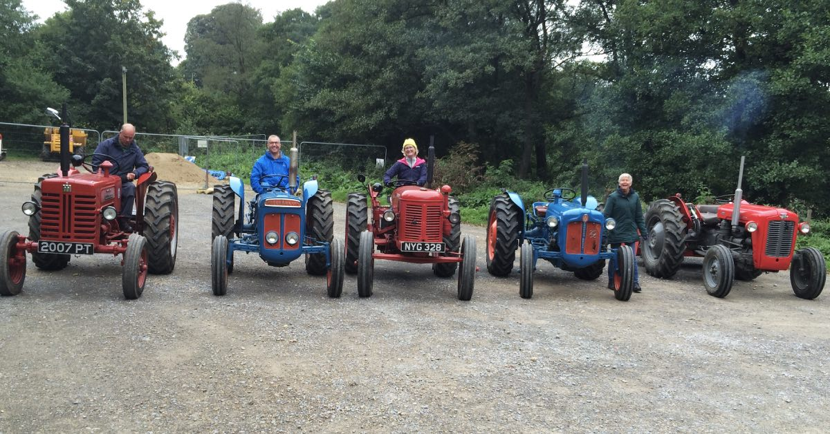 Vintage tractors on show in Ripon next weekend