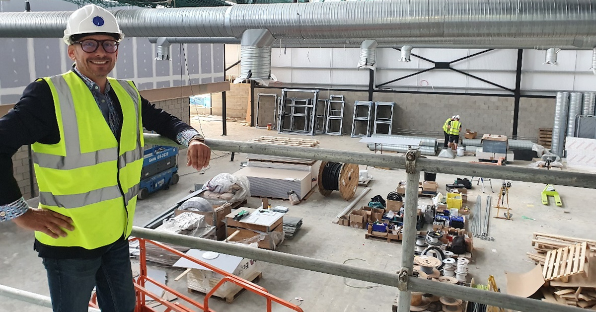 New food director as Crimple Hall nears completion of £4m refurb
