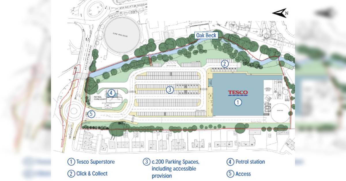 Tesco launches plans for major Skipton Road supermarket