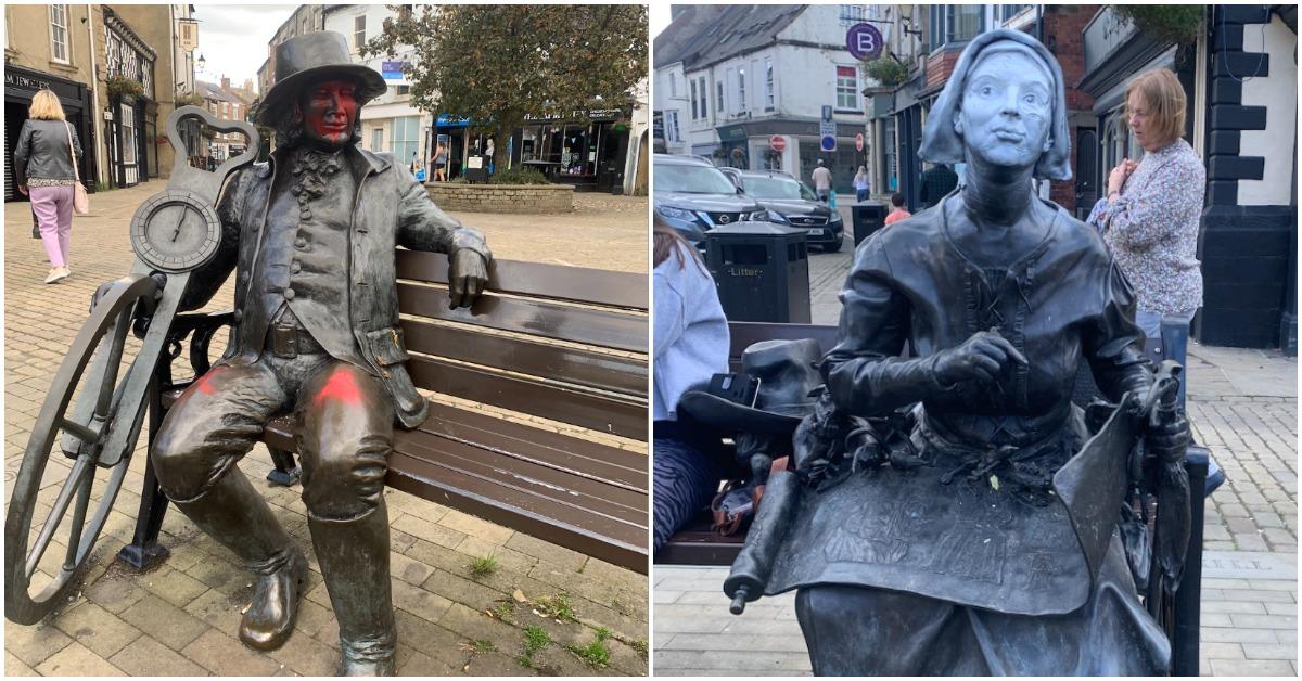 Swastikas sprayed as Knaresborough monuments desecrated