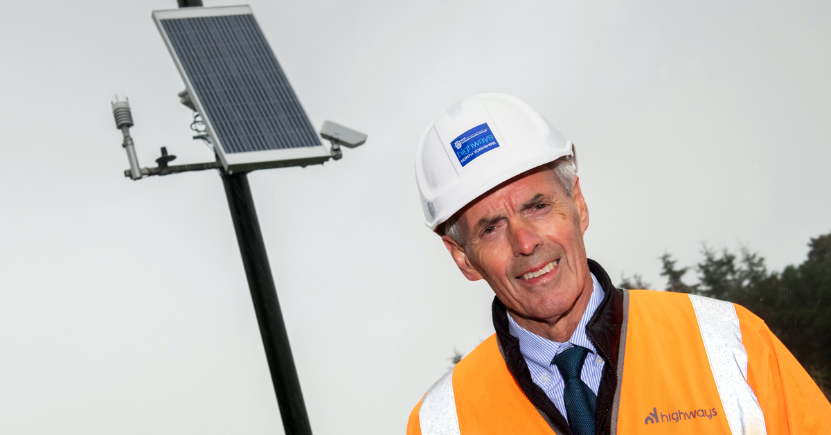 Cllr Don Mackenzie, executive councillor for highways at North Yorkshire County Council.
