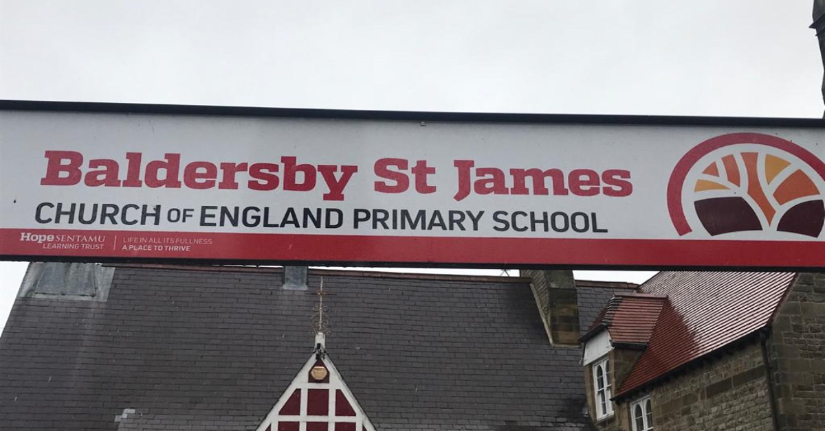 Baldersby St James Primary School, which is to close in August 2022.