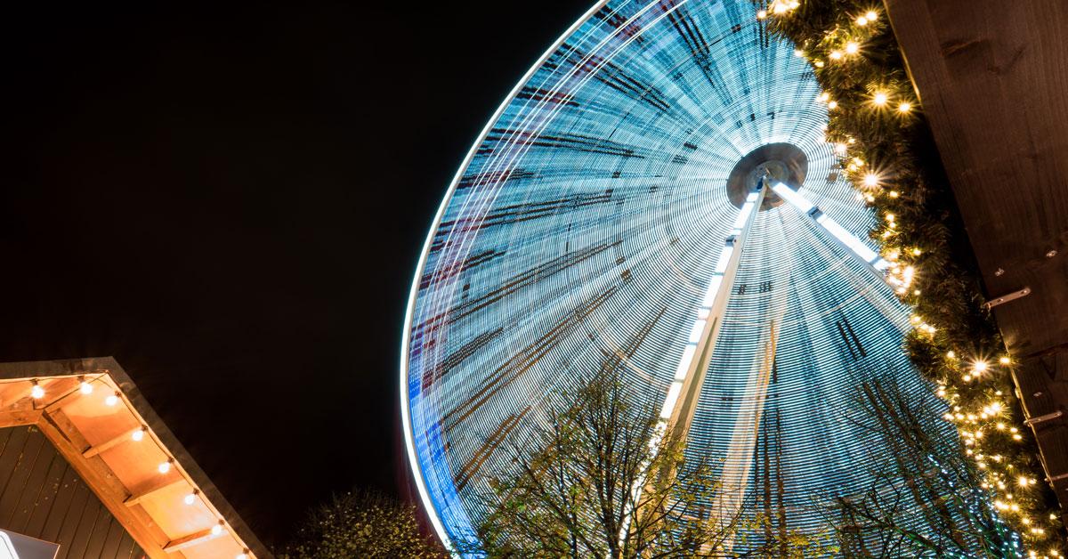 Ferris wheel, carousel and road train part of huge Harrogate Christmas offering