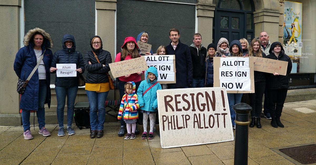 Philip Allott resignation: what happens now?