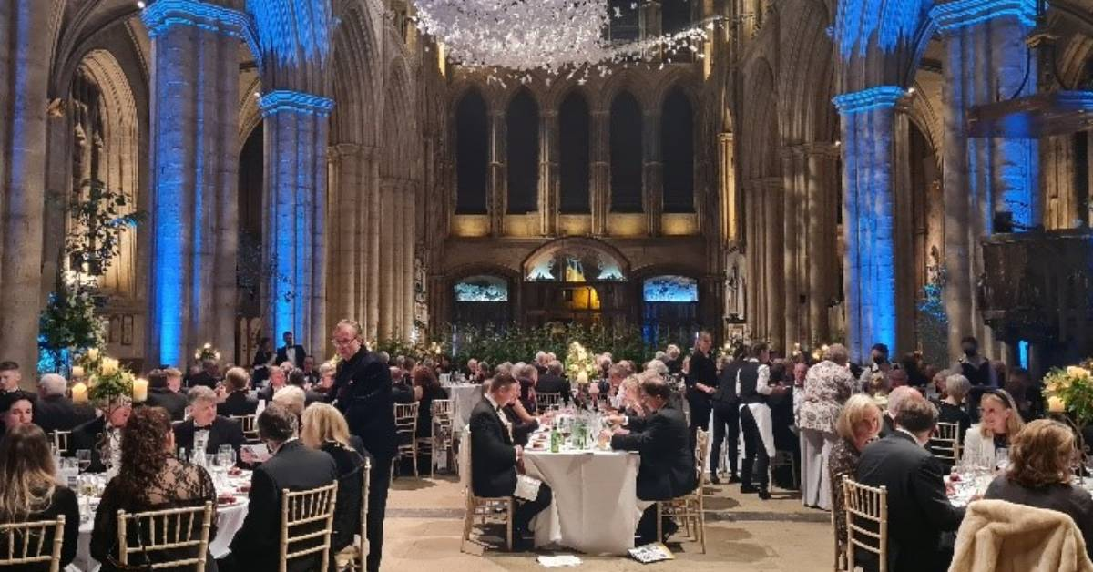 Dean's banquet raises £16,000 for Ripon Cathedral