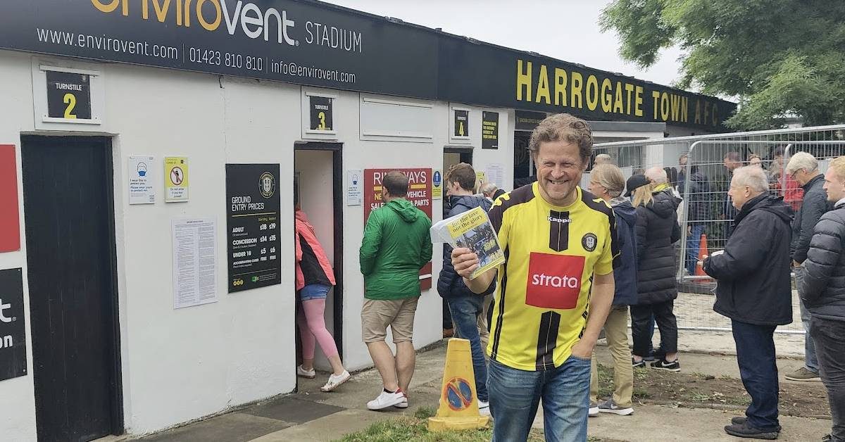 Harrogate Town urges fans to buy tickets to Saturday's game in advance