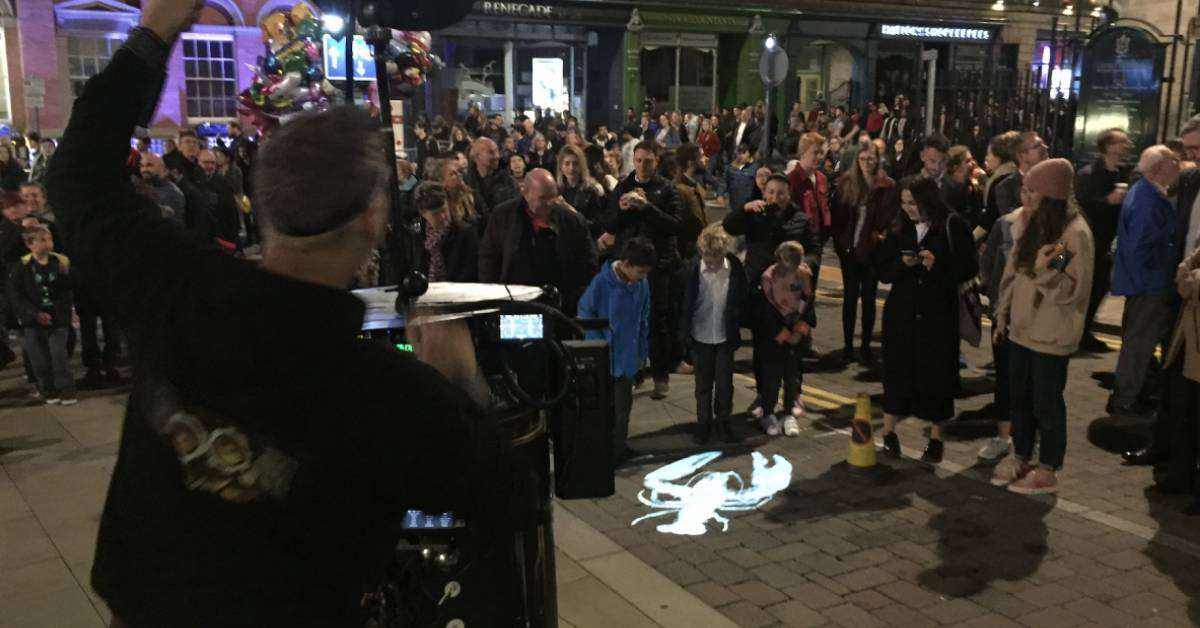 Harrogate town centre to be 'lit up with literature'