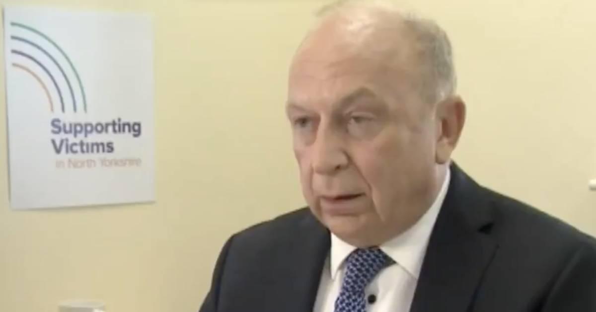 Police commissioner Philip Allott resigns