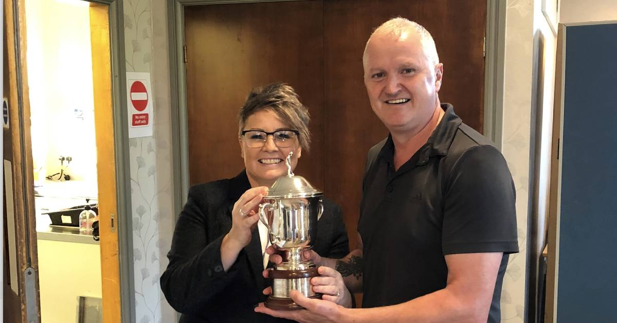 Knaresborough memorial golf event raises £1,200 for hospital